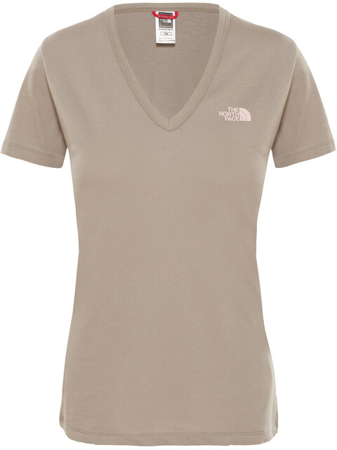 The North Face Simple Dome S/S Tee Women silt grey